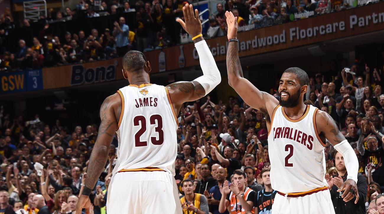 Image result for kyrie and lebron