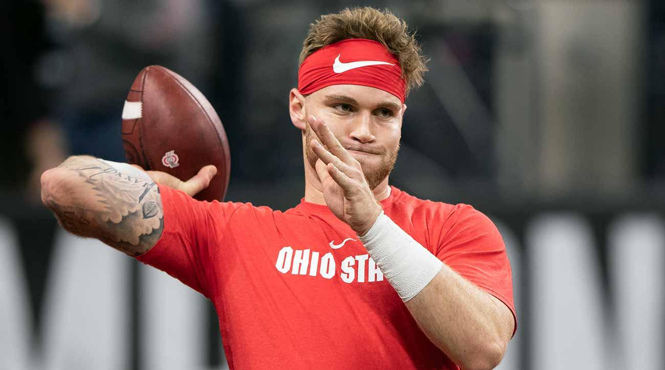 Tate Martell, Justin Fields and the transfer portal