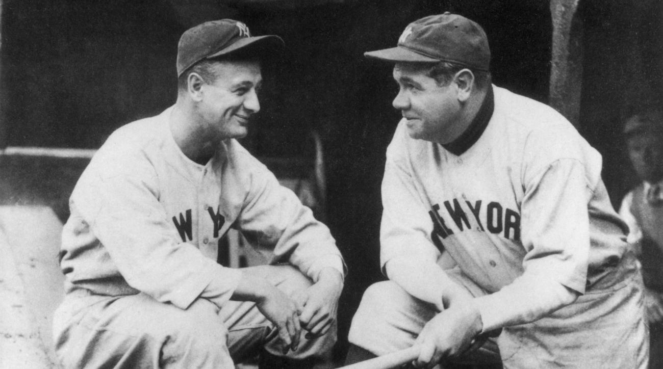 Video: Babe Ruth, Lou Gehrig taking batting practice
