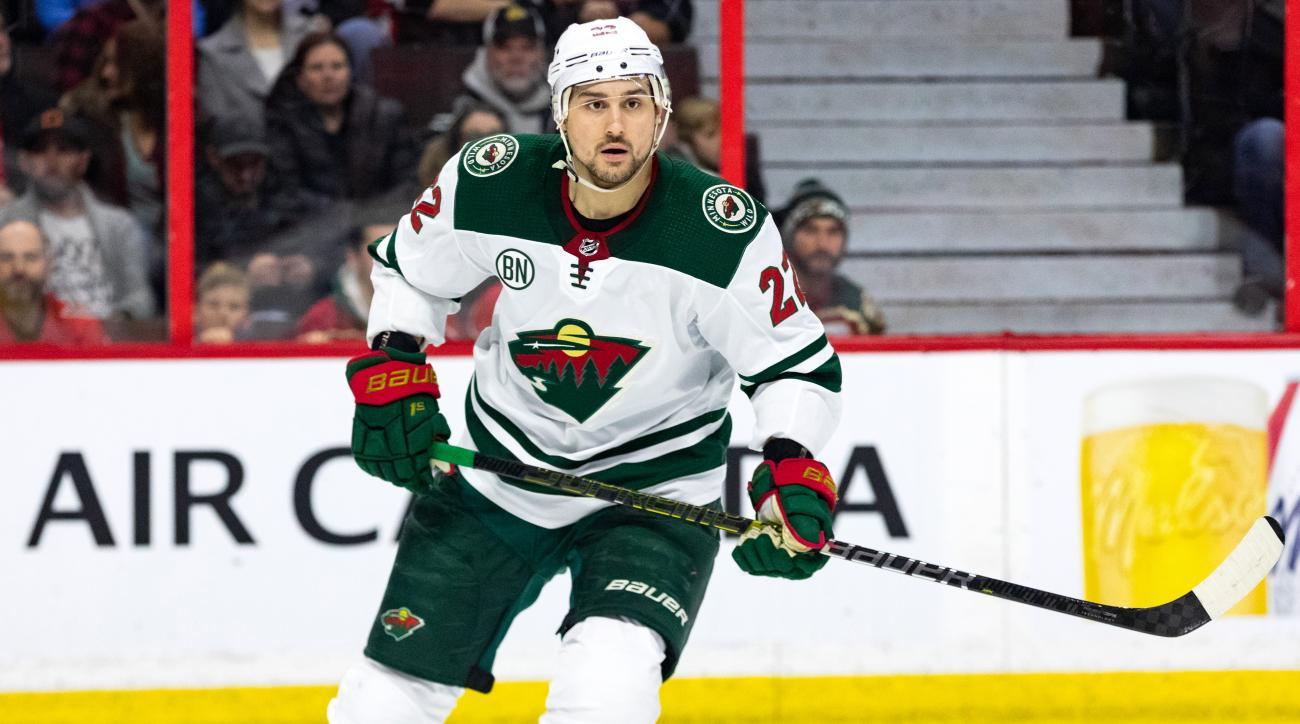 NHL: JAN 05 Wild at Senators