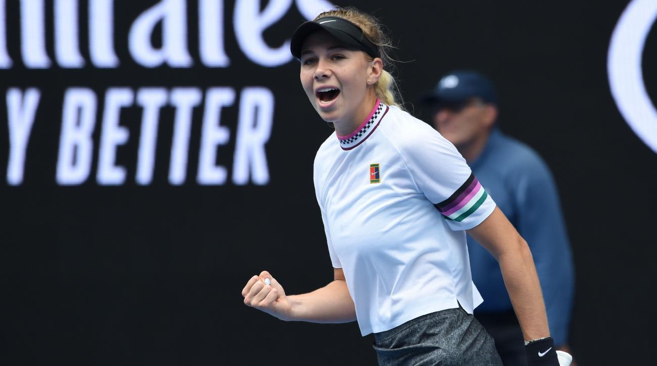 Amanda Anisimova beats Aryna Sabalenka Australian Open