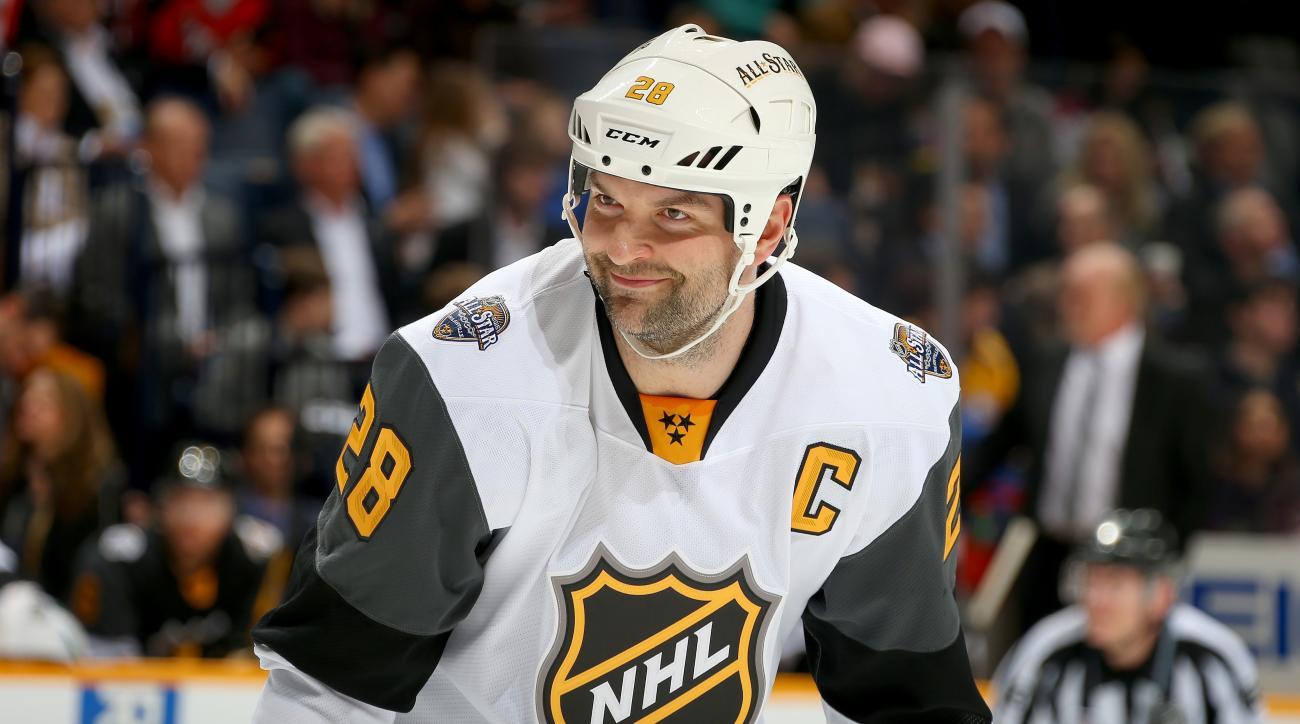 John Scott: NHL player falls in frozen lake, almost dies