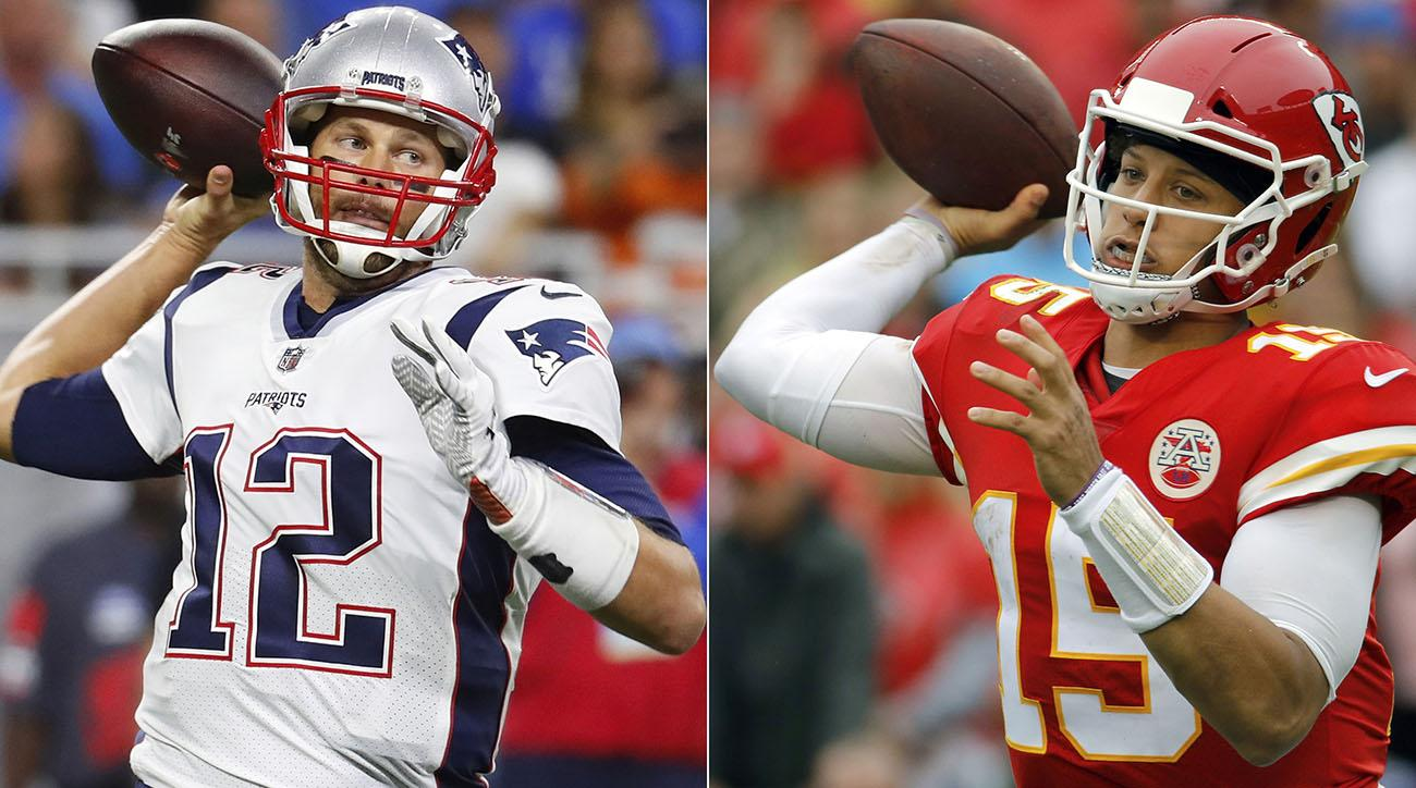 Tom Brady Seeks Out Patrick Mahomes After Afc Championship
