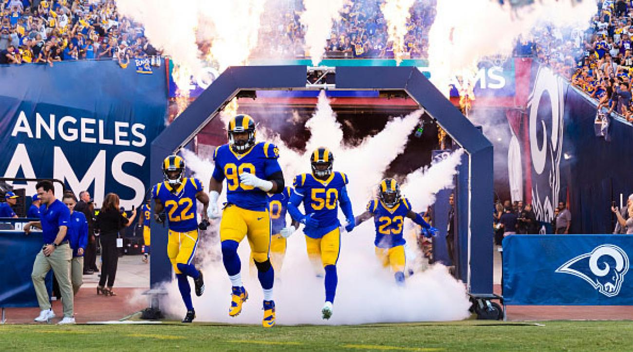 Rams Super Bowl uniforms  Los Angeles to wear throwbacks  6359c6aa3