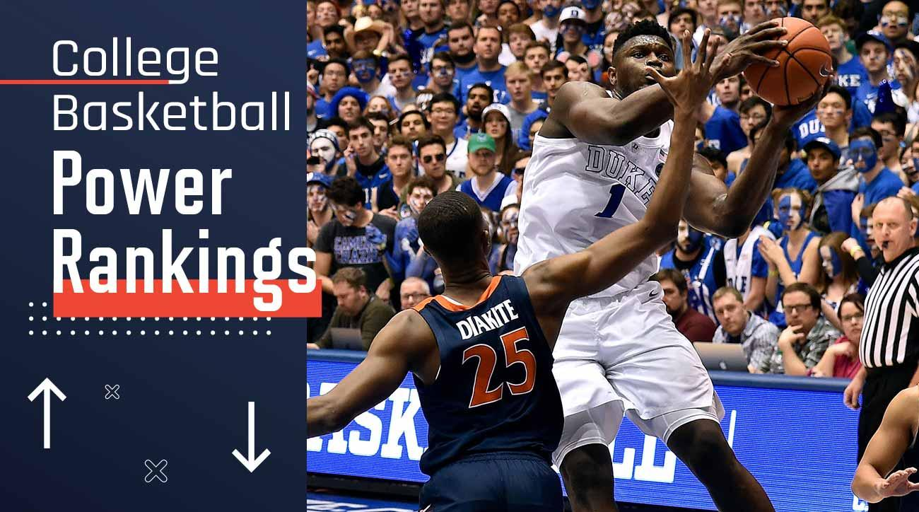 College basketball rankings, polls: Duke, Tennessee lead Top 25