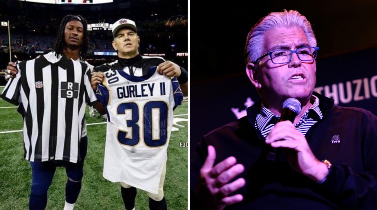 newest 6afba a488b Mike Francesa thought Todd Gurley-ref photoshop was real ...