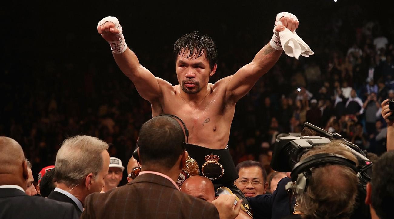 Manny Pacquiao Q&A: 'I Don't Feel 40 in the Ring'