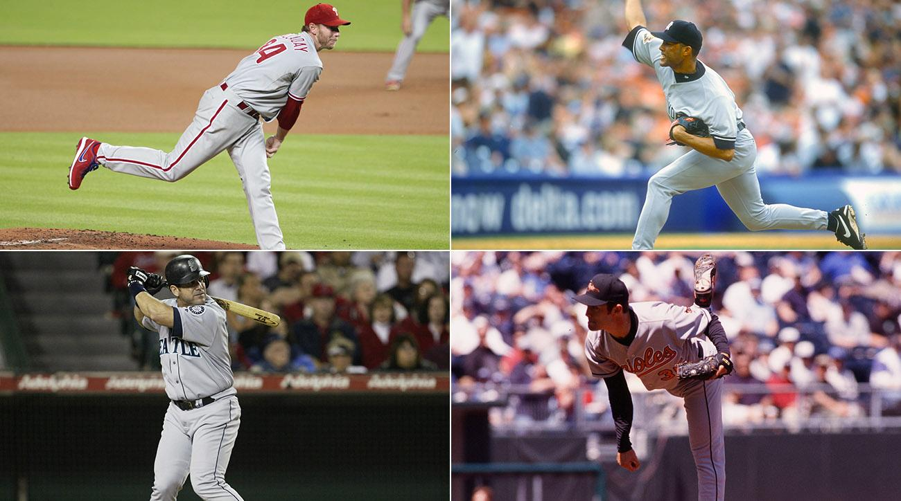 Roy Halladay, Mariano Rivera, Edgar Martinez, Mike Mussina