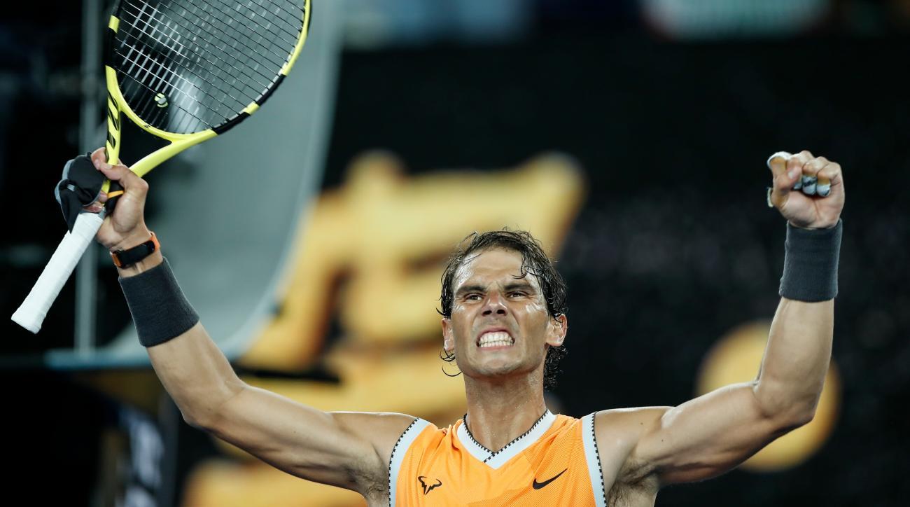 Nadal's TED Talk, Collins' Cinderella Run Highlight Day Nine of the Australian Open