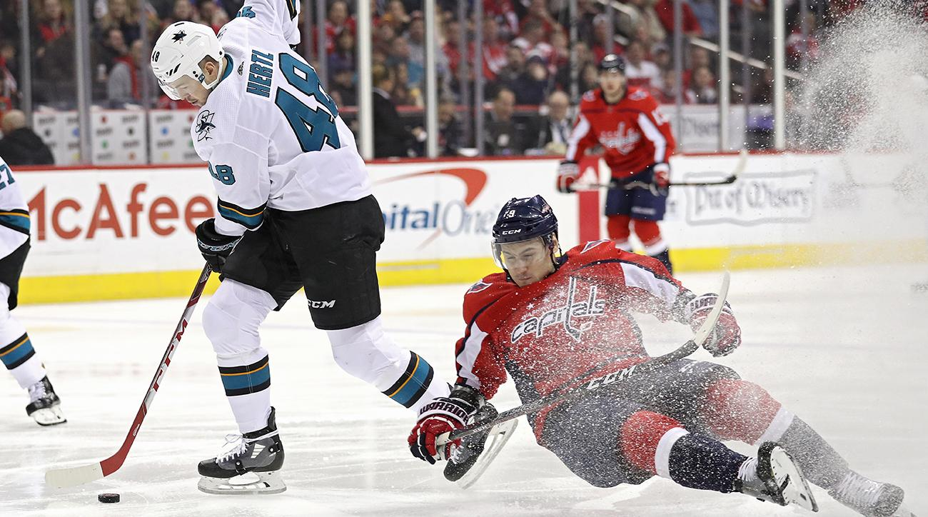 San Jose Sharks v Washington Capitals