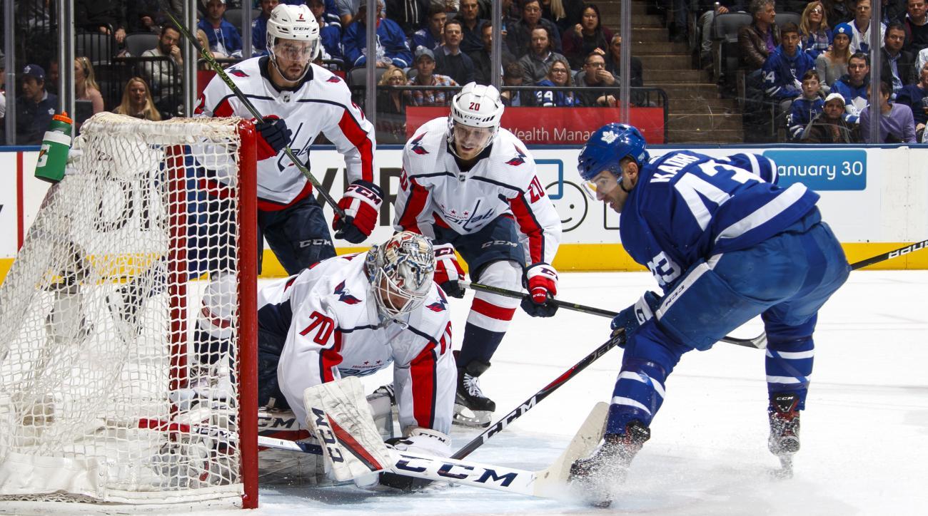 Washington Capitals  v Toronto Maple Leafs