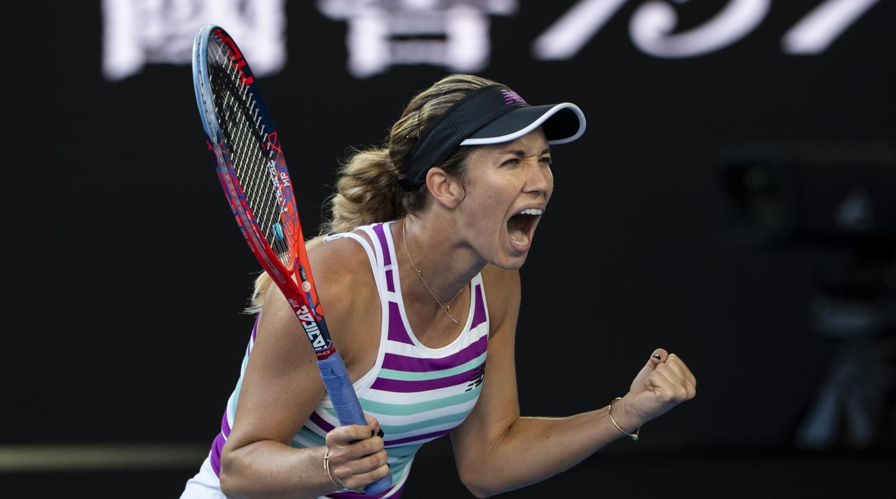 Danielle Collins australian open semifinals