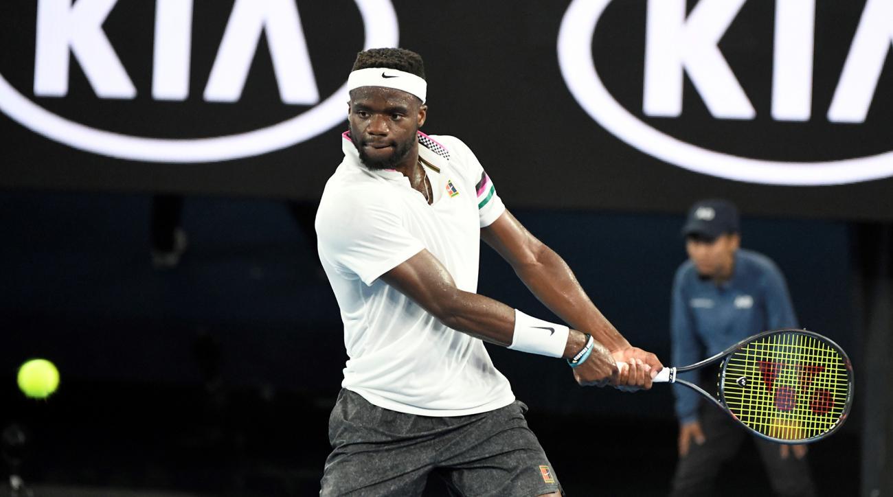 Frances tiafoe australian open 2019 quarterfinal rafael nadal