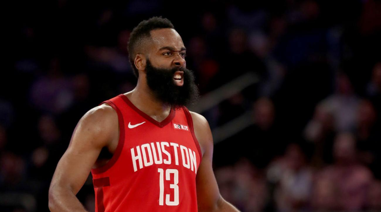a96c28a75e19 James Harden scores career-high 61 points as Rockets beat Knicks at Madison  Square Garden