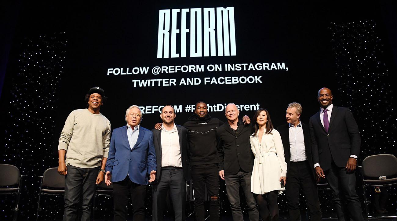 meek mill, Jay-Z, robert kraft, michael rubin, 76ers, Nets, patriots