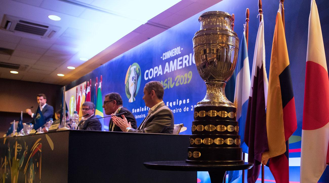 Copa America Draw Results Groups Matches Set For Brazil 2019 Sicom