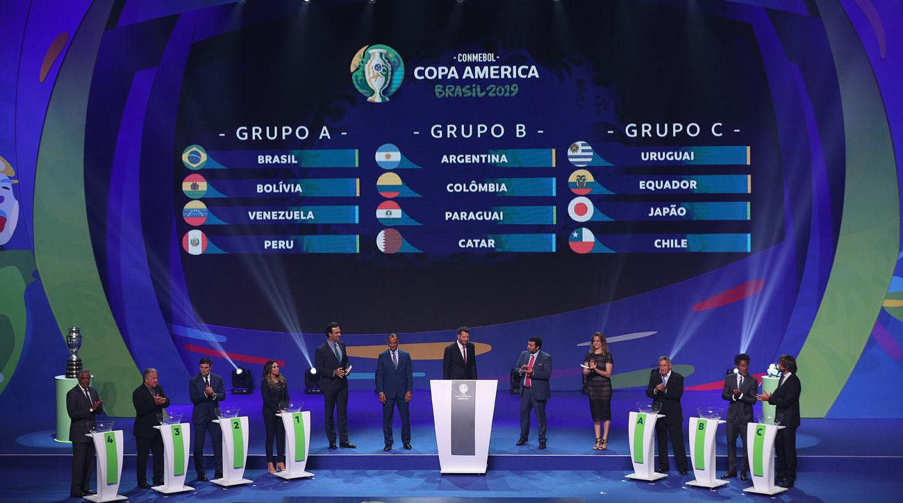 Copa America 2019 Groups Balanced In Brazil Osorio To Be Tested