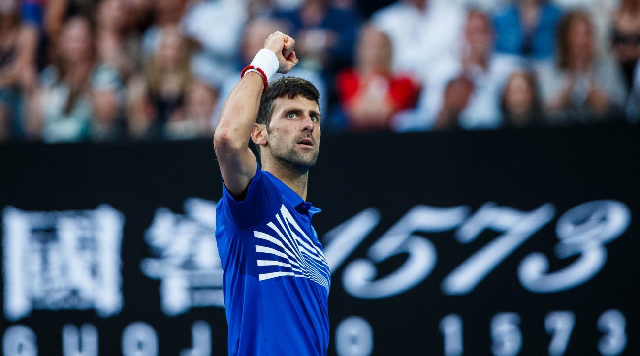 Novak Djokovic beats rafael nadal australian open 2019