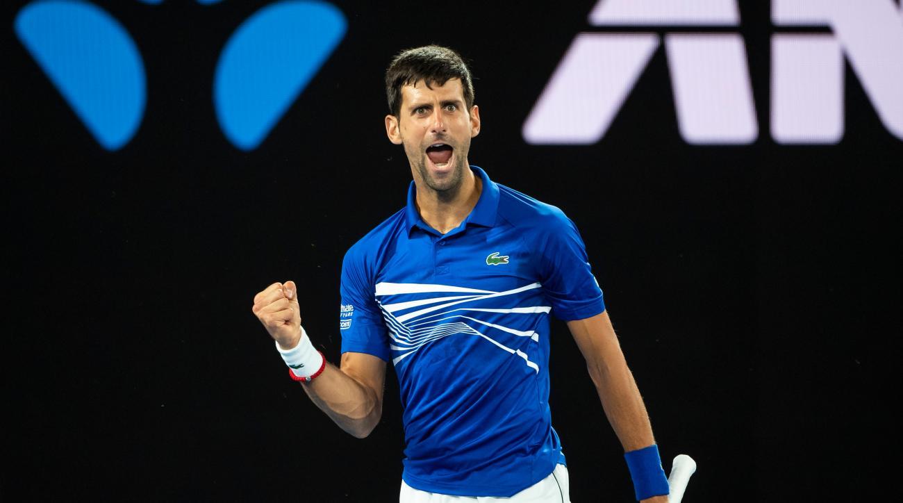 Djokovic, Osaka Triumph Down Under