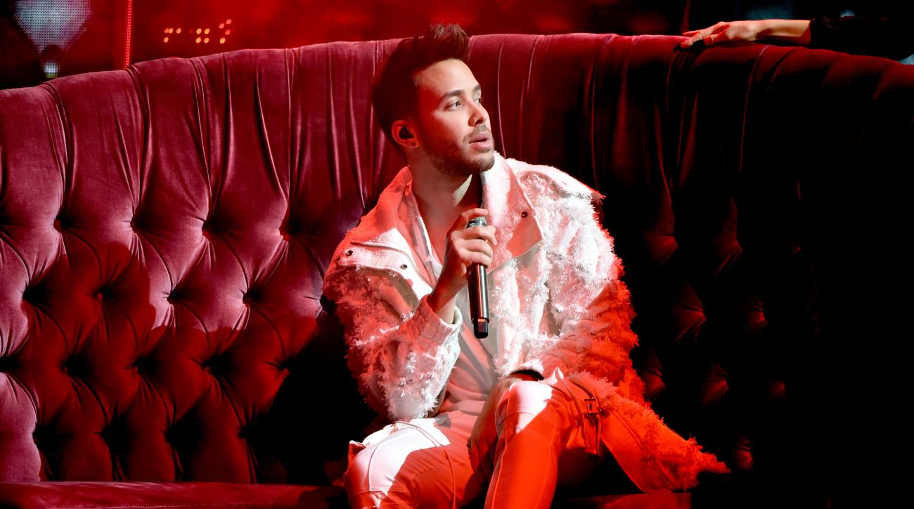 Prince Royce: Bachata singer joins FCFL (Fan Controlled Football League)