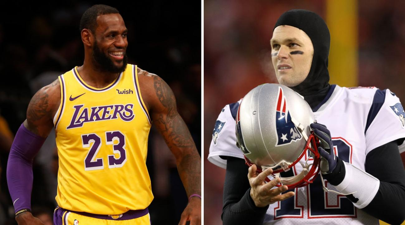 9ae73df41ee Tom Brady Says LeBron James Is the Better Athlete Between the Two