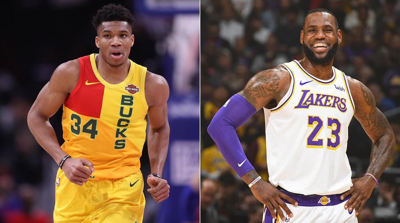 ac60a3c93aa All-Star Mock Draft  LeBron Goes Full Recruiter Mode as Giannis Stacks the  High-Flyers