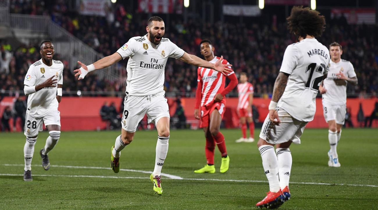 In-Form Benzema Leads Real Madrid by Girona Into Copa semifinals bfe9b0228