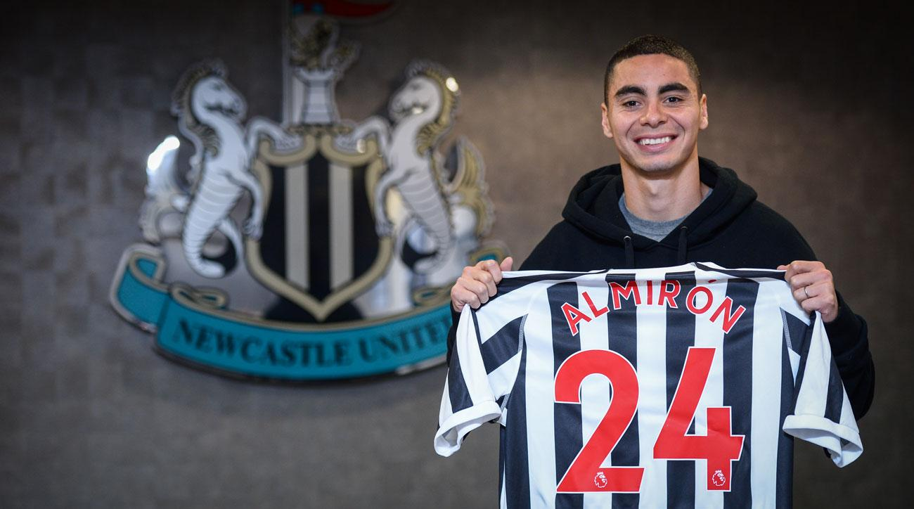 Miguel Almiron leaves Atlanta United for Newcastle