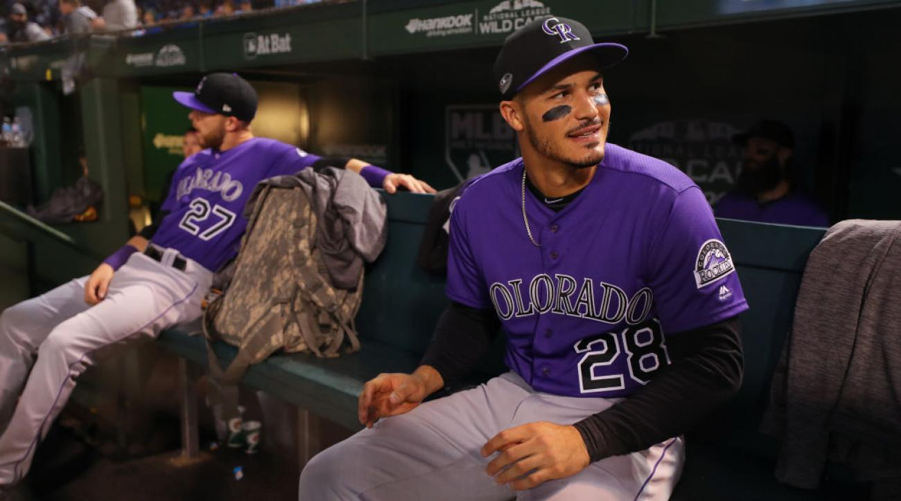 d0e279781aa Nolan Arenado contract  Rockies agree to record  26M deal