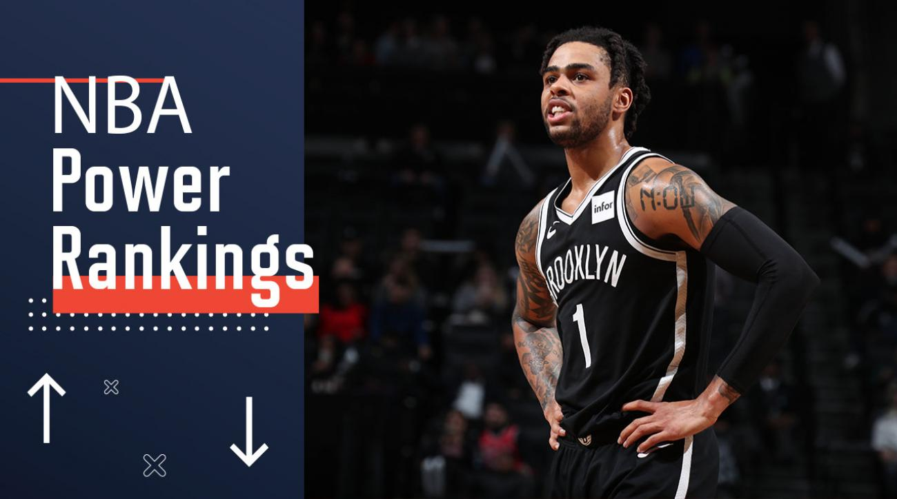 Nba Power Rankings The Nets Need Dangelo Russell To Reach Another