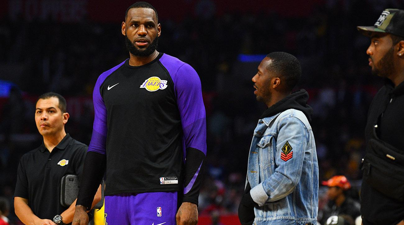 NBA: JAN 31 Lakers at Clippers