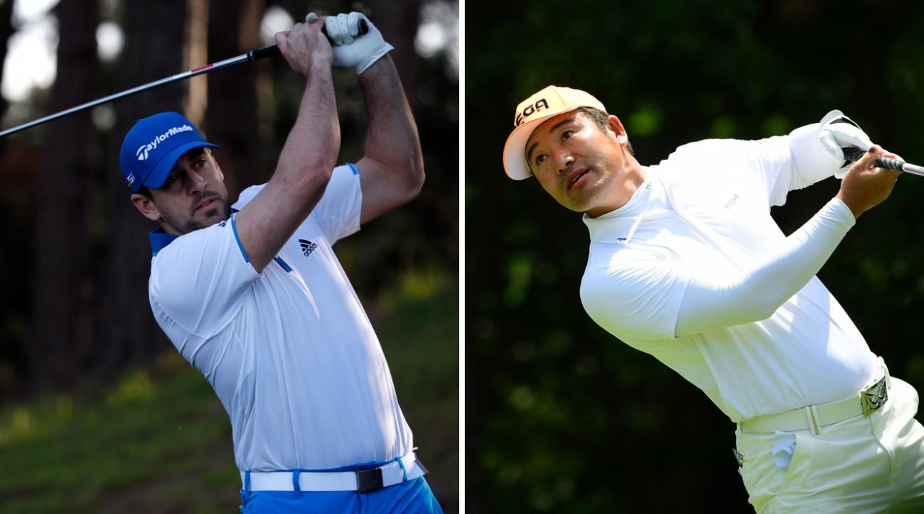 Aaron Rodgers' Pebble Beach Pro-Am partner is Hosung Choi