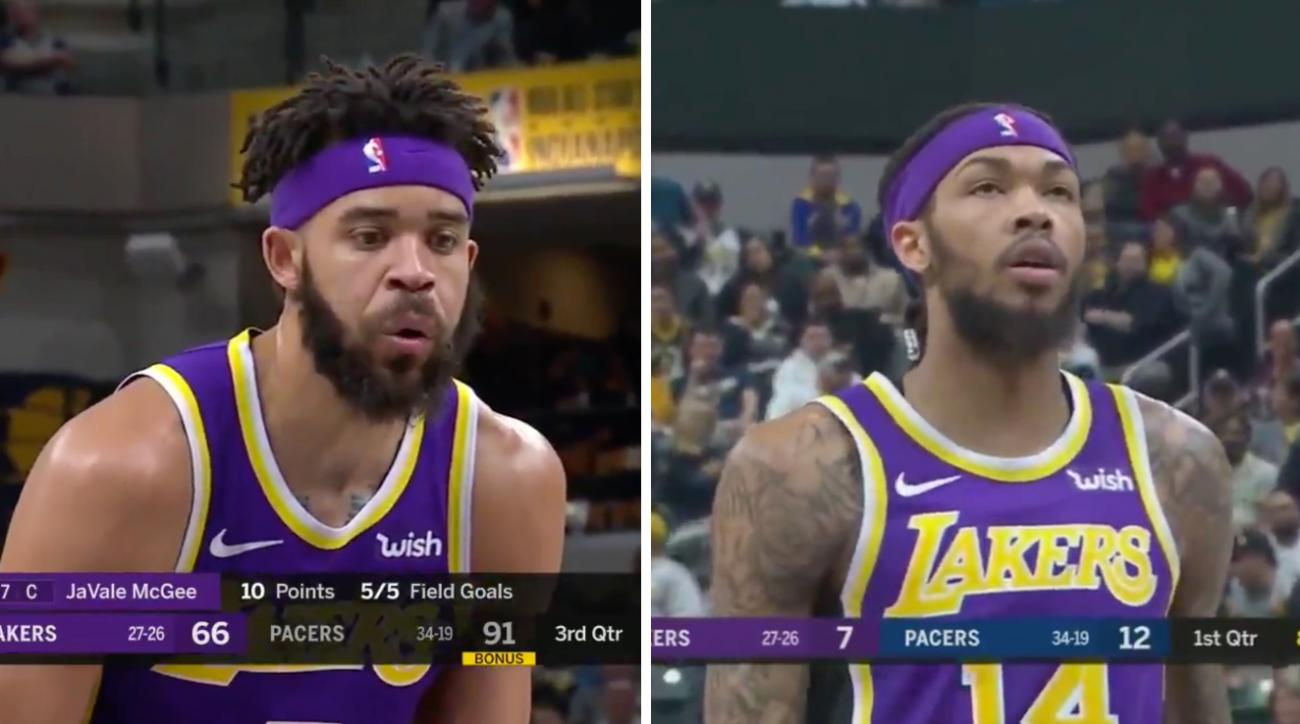 Lakers trade rumors: Brandon Ingram, JaVale McGee taunted by Pacers fans