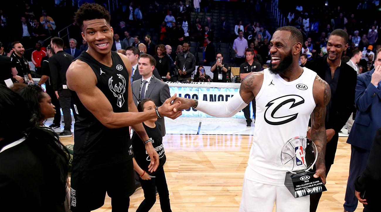 NBA All-Star Game Draft  LeBron 38c60aa44