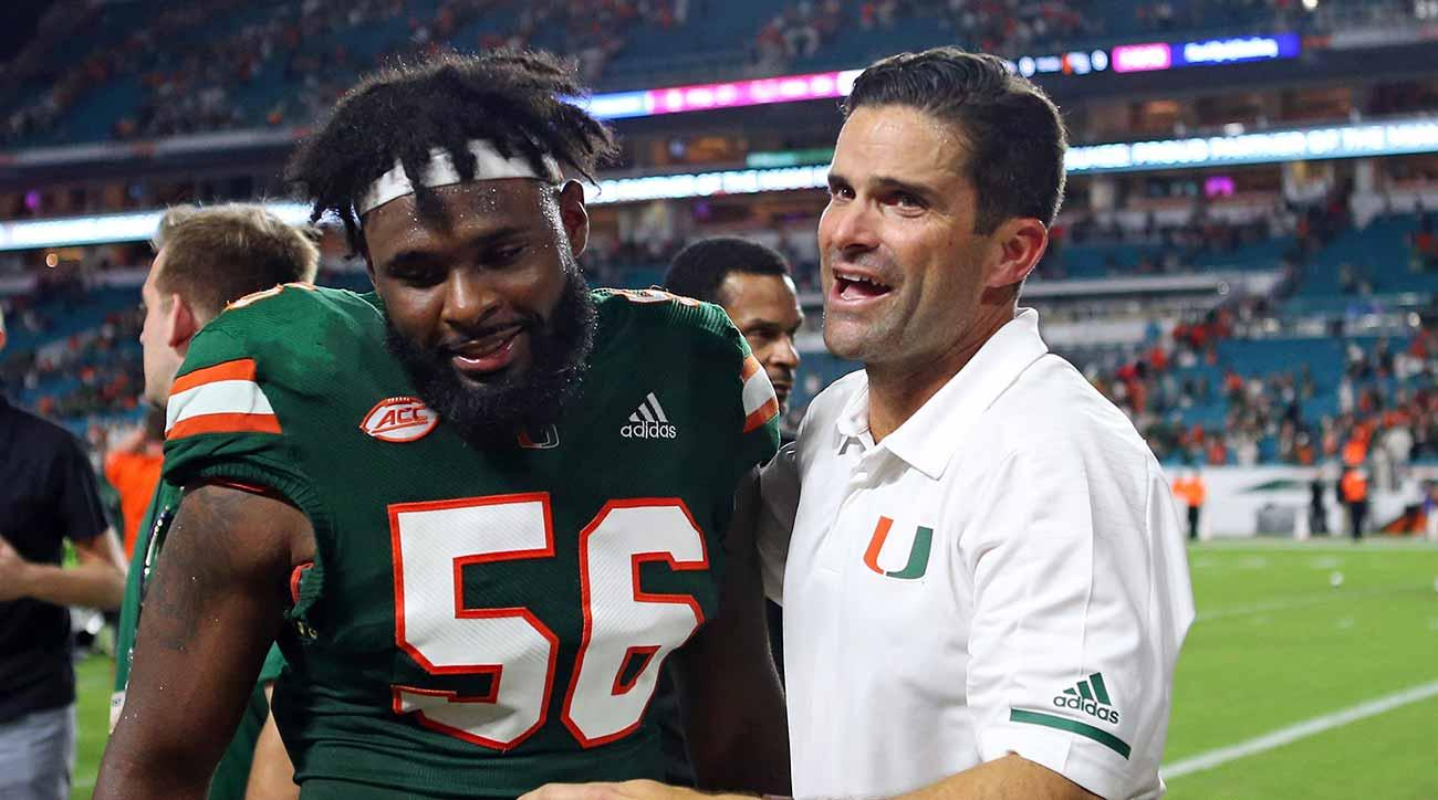 Manny Diaz, Miami turn to recruiting, transfer portal to move on from Mark Richt