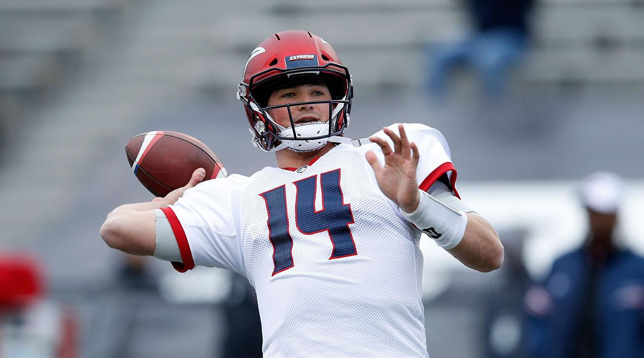 Christian Hackenberg, jets qb, Christian Hackenberg aaf debut, alliance of american football, eagles