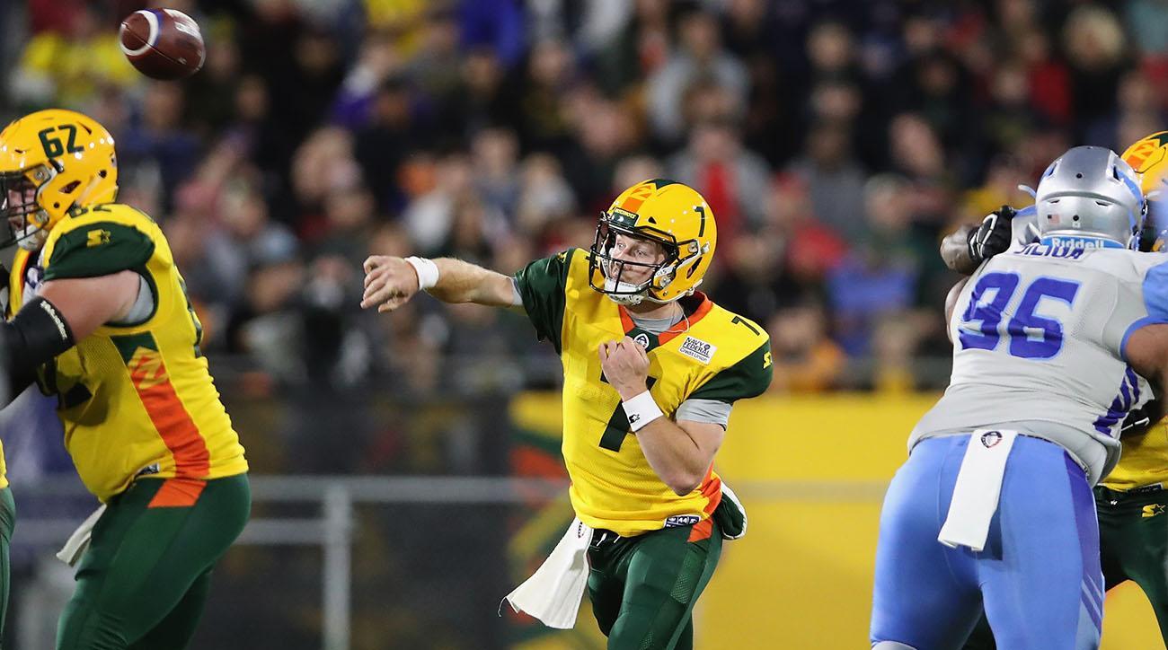 John Wolford, Alliance of American Football, arizona hotshots, John Wolford aaf debut