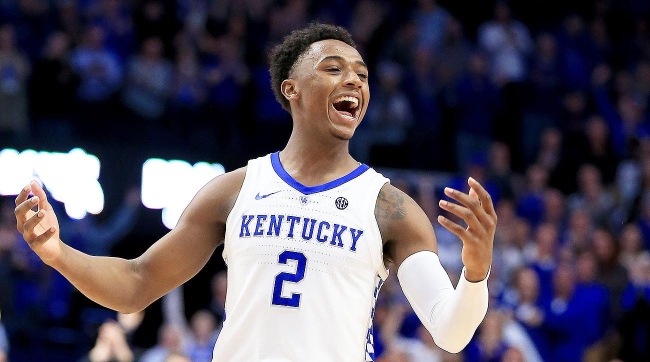 Washington scores 23, No. 5 Kentucky knocks off No. 1 Tennessee