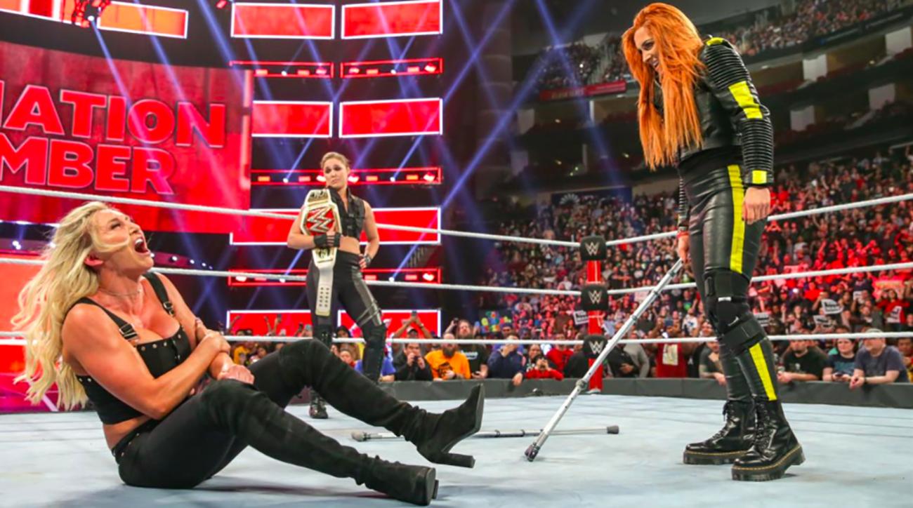 Charlotte Flair, Becky Lynch, Ronda Rousey