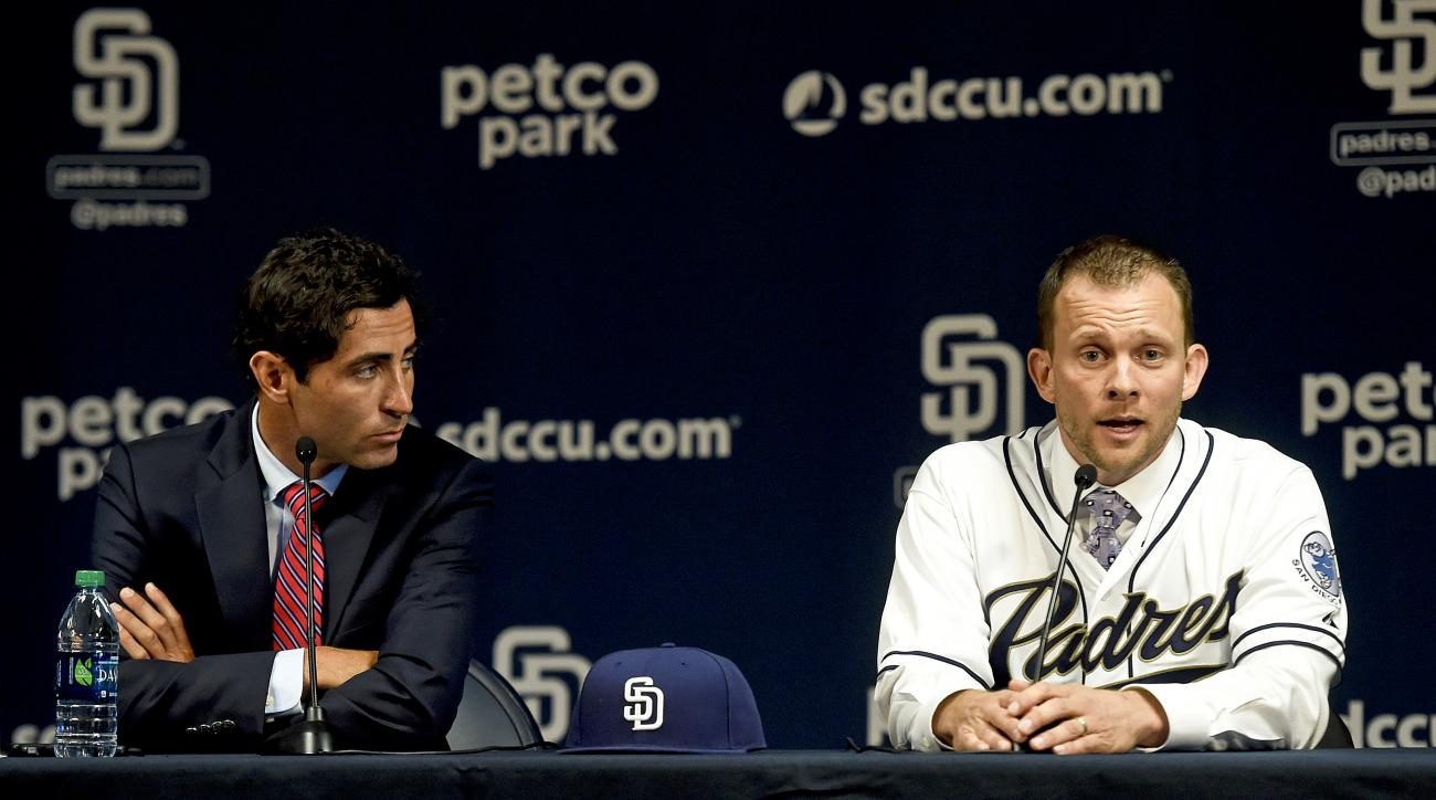 San Diego Padres Introduce Manager Andy Green