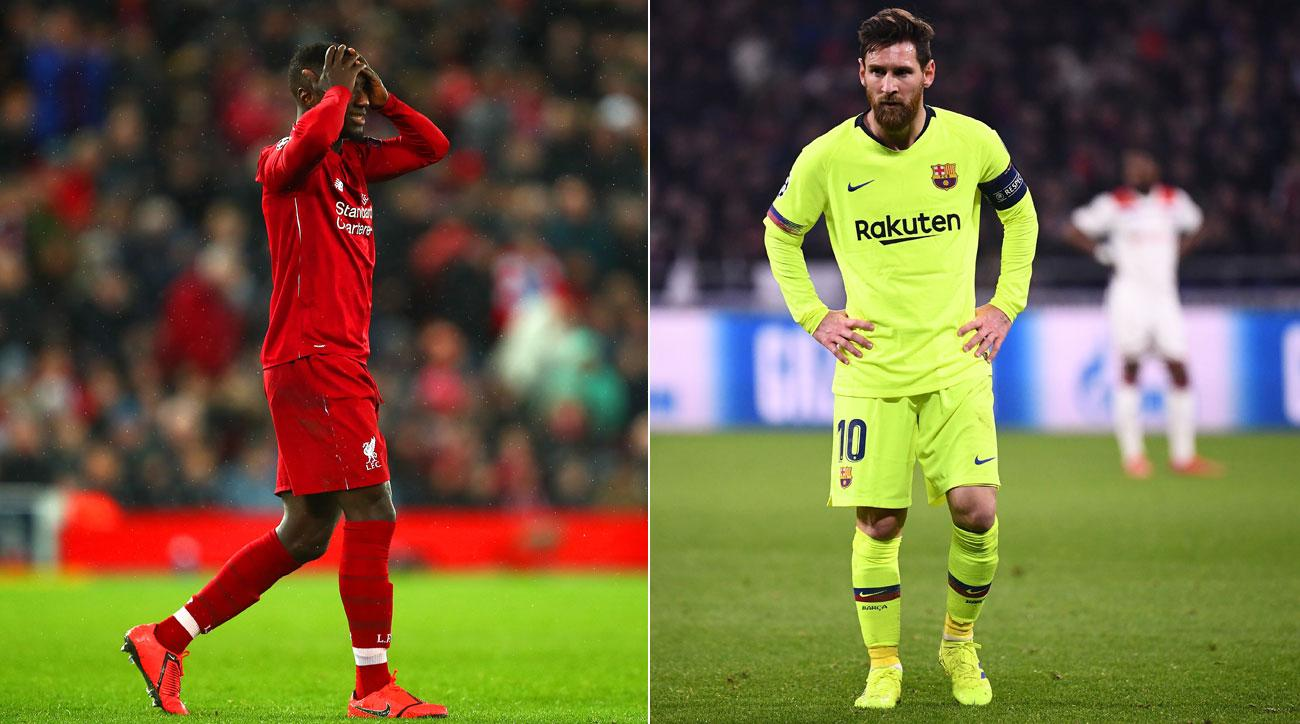 Liverpool and Barcelona are held to scoreless Champions League draws