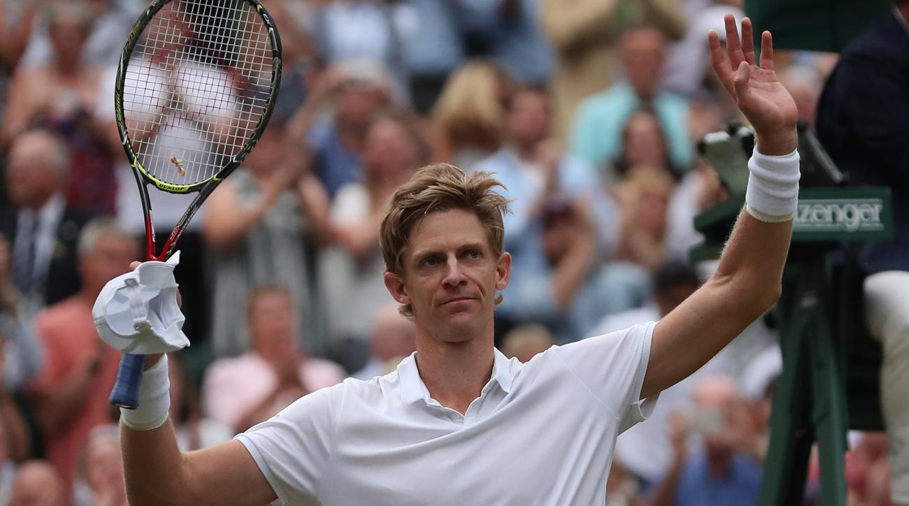 Kevin Anderson tennis green plastic environment