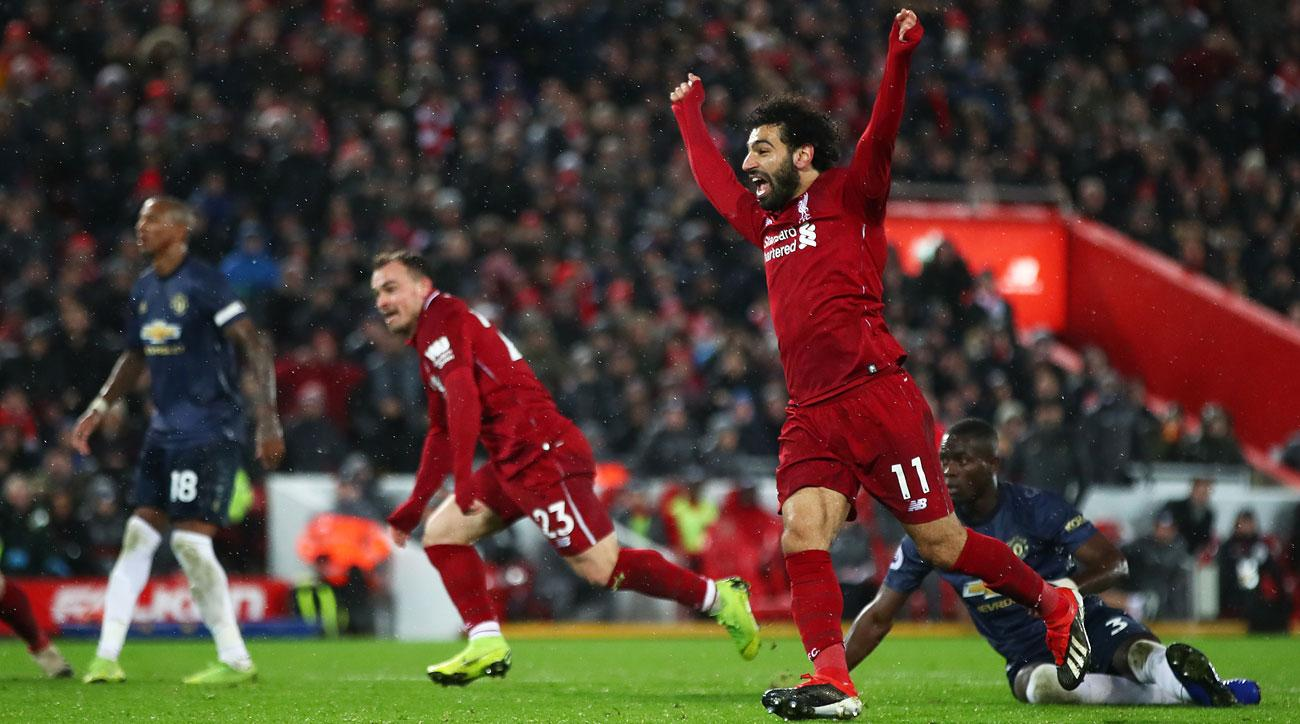Liverpool beats Manchester United in a December showdown at Anfield