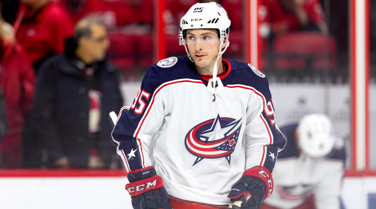 NHL: FEB 22 Blue Jackets at Senators