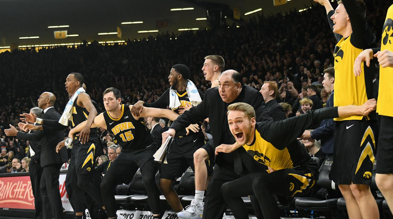 COLLEGE BASKETBALL: FEB 22 Indiana at Iowa