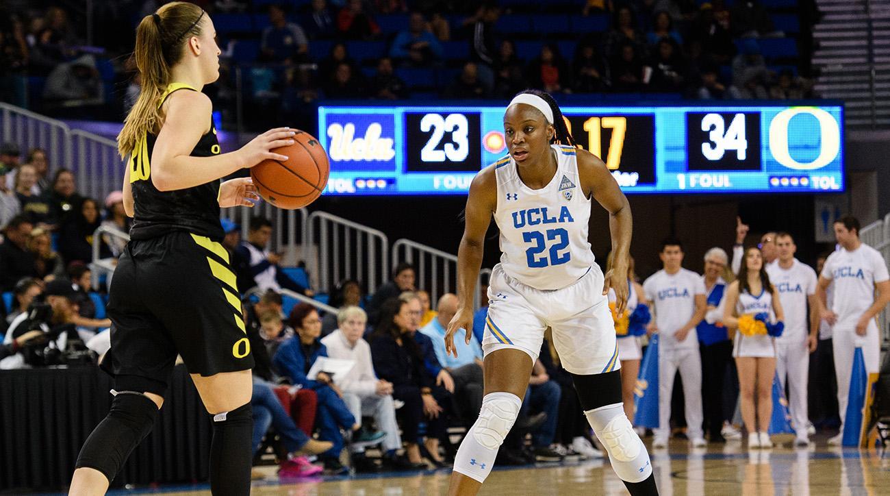COLLEGE BASKETBALL: JAN 13 Women's Oregon at UCLA