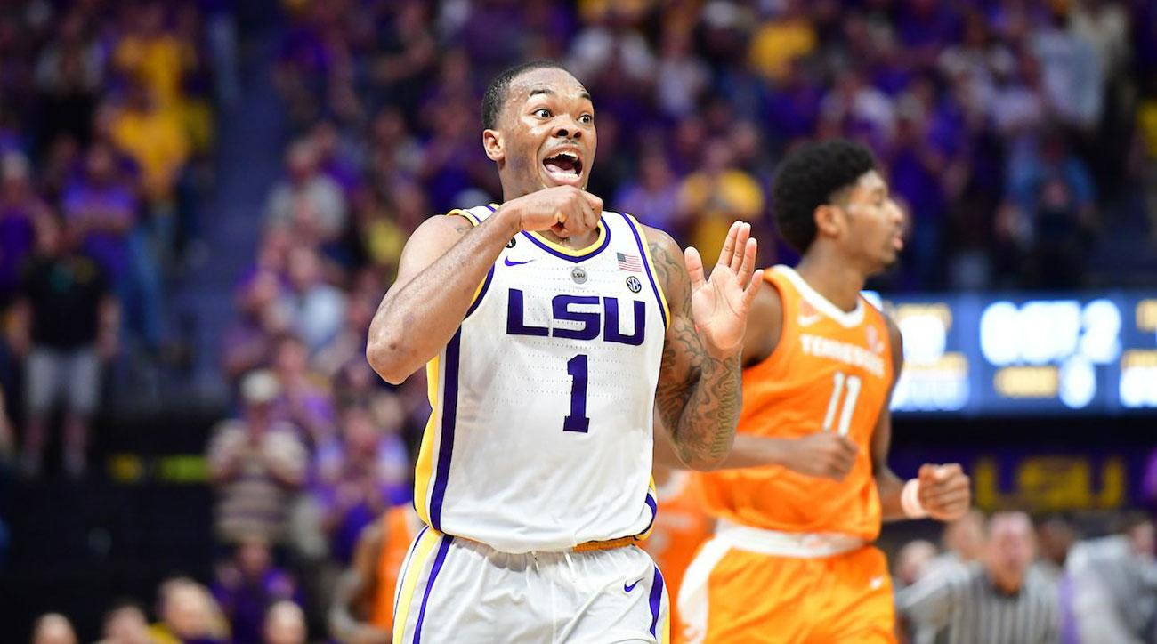 97c848edb3c LSU upsets Tennessee in SEC title race on late foul call (video) | SI.com