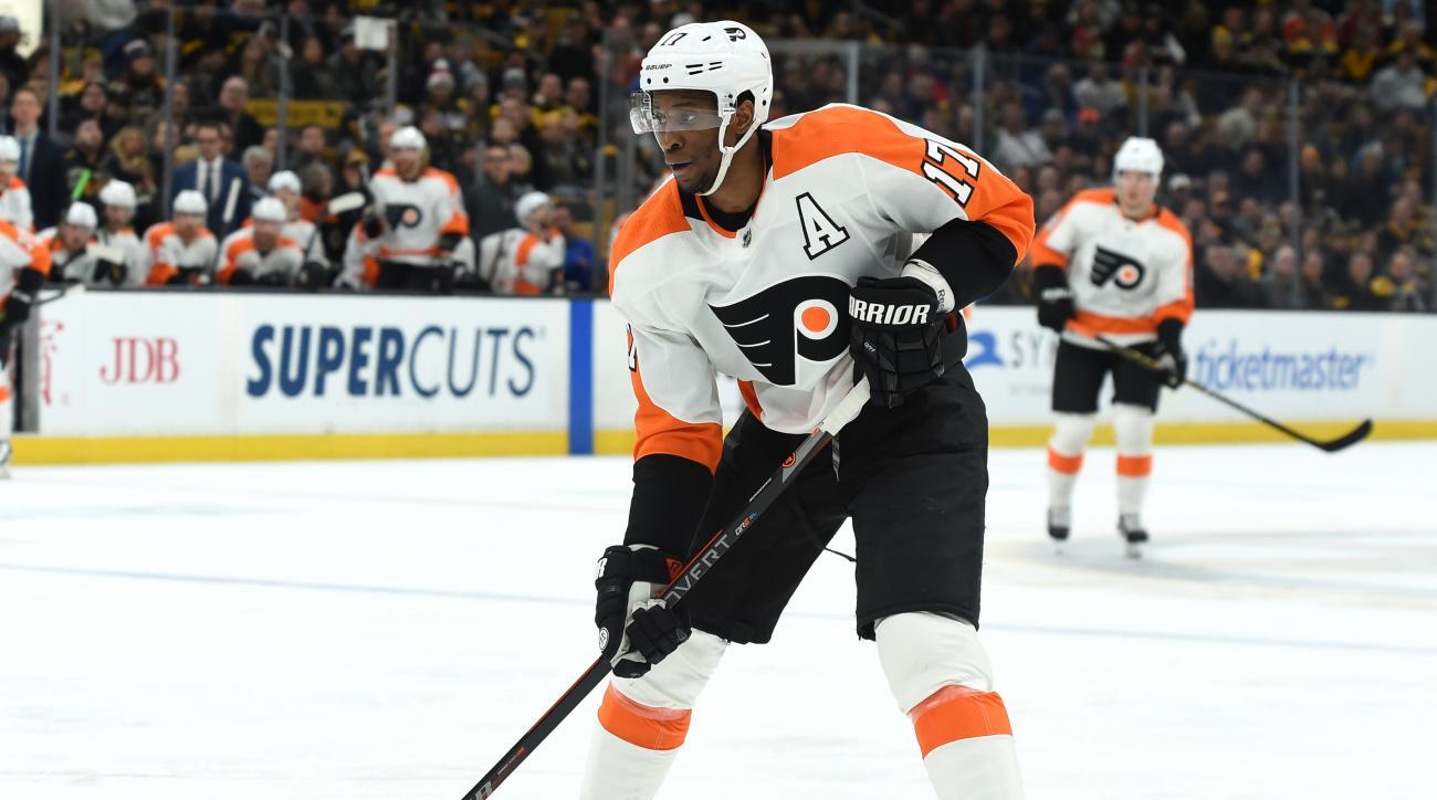 Philadelpiha Flyers v Boston Bruins