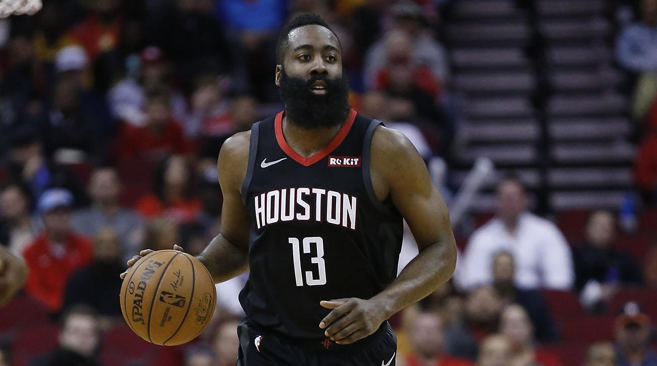 156d37ca9f6 James Harden points streak  Rockets star scores 28 in win over Hawks ...