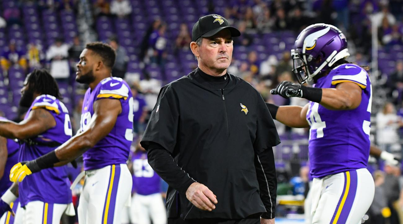 Mike Zimmer contract  Vikings pick up 2020 option  6f16193dd